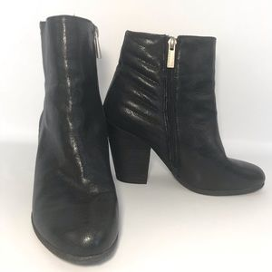 Vince Camuto Hana Black Ankle Boots Booties